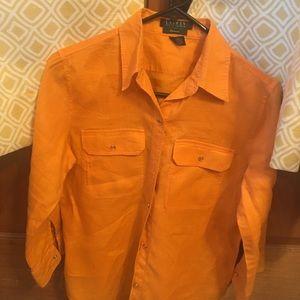 Ralph Lauren linen blouse